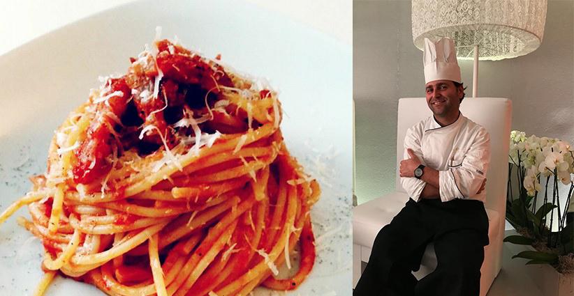 Sugo all 39 amatriciana a tavola con lo chef enzo de rosa - A tavola con lo chef ...